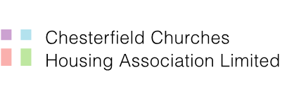 Chesterfield Churches Housing Association Limited - Our Logo and Link back to our home page.